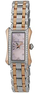 Carl F. Bucherer Alacria Princess Steel & 18k Rose Gold Diamond Womens Watch 00.10703.07.77.31