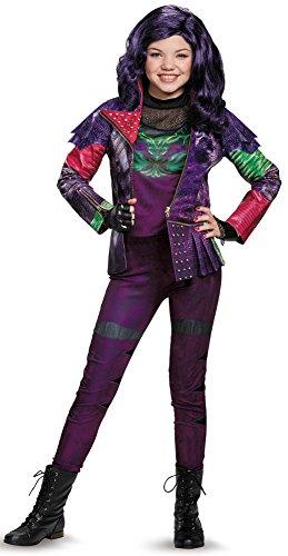 Maleficent Costume Descendants (Mal Prestige Descendants Disney Costume, X-Large/14-16)