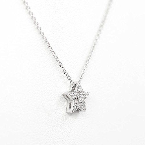Star Dainty Diamond Necklace, Diamond Sliding Pendant, 14k Rose gold Necklace, Minimalist Diamond Necklace, Natural Diamond Pendant, Star Shaped Necklace