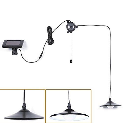 Solar table lamp: KYSON Solar Powered Shed Light