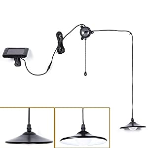 418yjESkwfL. SS300  - Solar Lights,Kyson Solar Powered Led Shed Light with Remote Control and Pull Cord for Indoor Outdoor Use