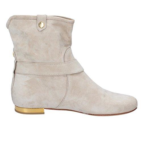 Albano Woman Blue Boots US 38 Suede 8 Ankle Beige Beige EU gwrHAgq