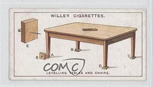 Levelling Tables And Chairs COMC REVIEWED Good to VG-EX (Trading Card) 1927 Wills Household Hints - Tobacco [Base] #44