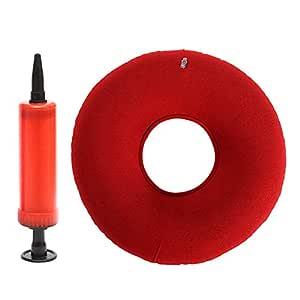 Almohadilla para asiento de cojín de vinilo y anillo con bomba de ...