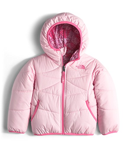 The North Face Reversible Perrito Jacket Toddler Girls' Coy Pink 6 T