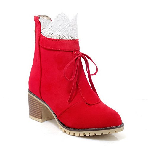 EU 1To9 MNS02502 Rouge Inconnu 5 Femme Red Bas 38 BwWf4