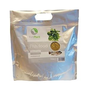 Comida en granulos para Peces Tilapias / Carpas Acuaponía FishPlant® Grow (1kg)