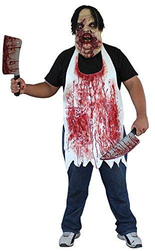 BESTPR1CE Mens Halloween Costume- Butcher Apron Adult Costume -