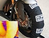 Tire Warmer Set, Single Temp, 180 to 200 Rr / 120 Fr, black