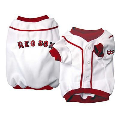 (MLB Boston Red Sox Baseball Dog Jersey, Large  - New Design)