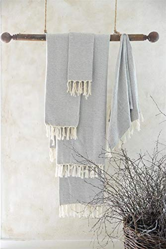 Jeanne D Arc Living Asciugamano Ospiti Asciugamano Bagno Frange