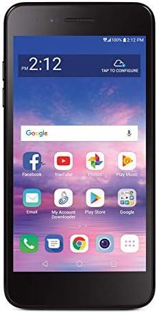 Total Wireless LG Rebel 4 4G LTE Prepaid Smartphone (Locked) - Black - 16GB - Sim Card Included - CDMA WeeklyReviewer