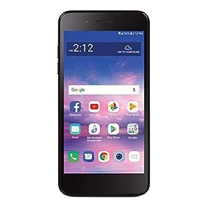 Total Wireless LG Rebel 4 4G LTE Prepaid Smartphone (Locked) – Black – 16GB – Sim Card Included – CDMA