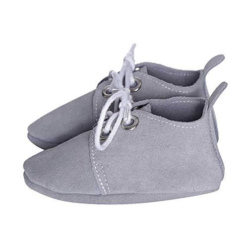 Oxford colore Babysteps per grigio bebè Scarpe dIqxr6q