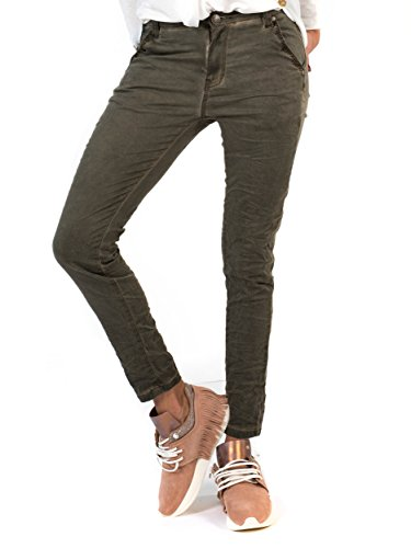 Donna Olive Bianco Olive Jeans Jeans Relaxed Bianco Donna Relaxed UZ7WxqP