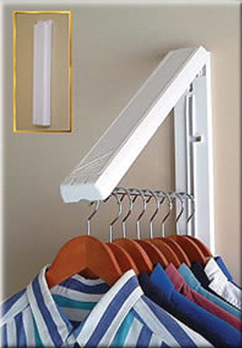 amazoncom arrow hanger ah12 instahanger clothes hanging system home kitchen - Clothes Wall Hanger