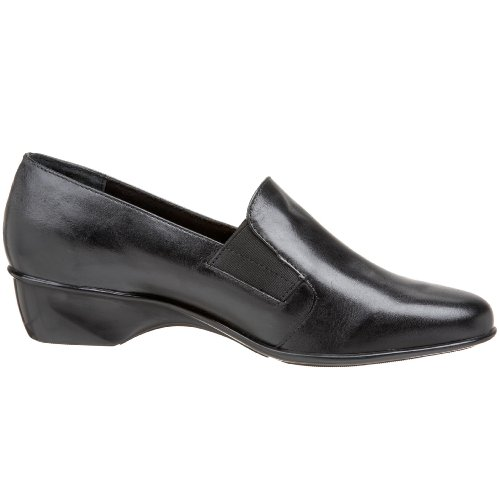 Walking Cradles Mujeres Teri Flat Black Leather