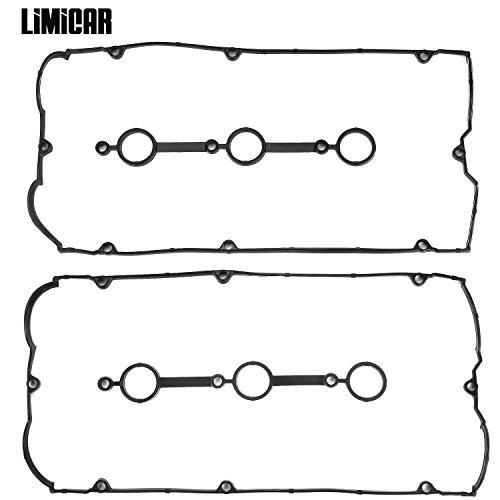 LIMICAR Cylinder Valve Cover Gaskets Set For 03-06 Hyundai Santa Fe 01 Hyundai XG300 02-05 Hyundai XG350 04-06 Kia Amanti 02-05 Kia Sedona 03-06 Kia Sorento 3.5L V6 22441-39810 CNVG-A031 ()