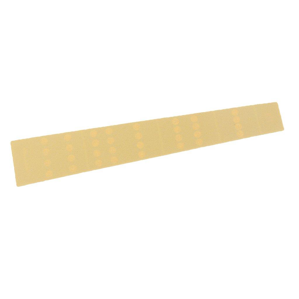 Sharplace Pegatinas Mapas de Escala Tono Entonaci/ón Etiquetas Fingerboard Accesorios Piezas de Viol/ín 1//8