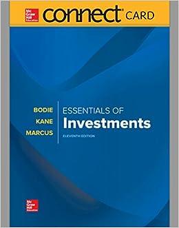 amazon essentials of investments