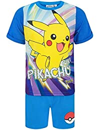 Pokemon Pikachu Boys Short Pyjamas