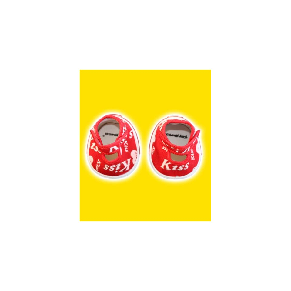 Red Kiss Heart Shoes Teddy Bear Clothes Fits Most 14   18 Build a bear, Vermont Teddy Bears, and Make Your Own Stuffed Animals