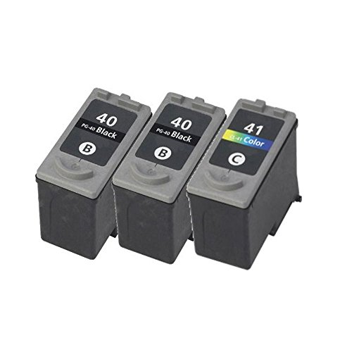 Canon PG-40 CL-41 ink cartridge For PIXMA MP210 MX300 MX310 Printer, 3 pack