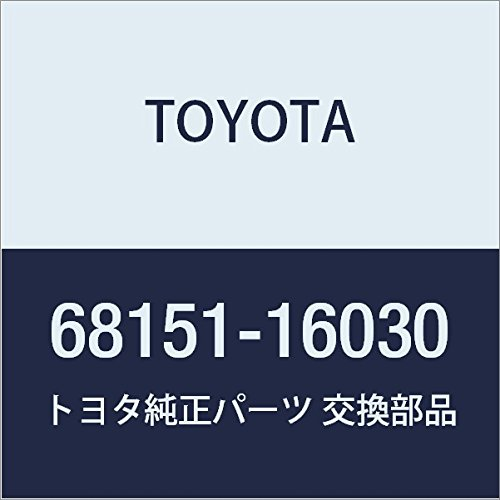 Toyota 68151-16030 Door Glass Run