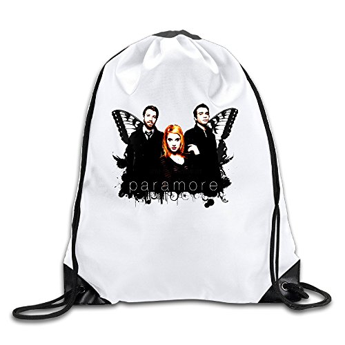 - XJBD Custom Paramore Hayley Williams Female Vocal Large Capacity Peregrinator Bag White