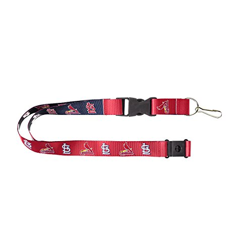 St Louis Cardinals Reversible Clip Lanyard Keychain Id Ticket Holder (Stl Cardinal Tickets compare prices)