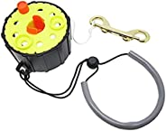 Scuba Choice Dive 100' Finger Reel Spool with Spin/Lock Latch, and Lan