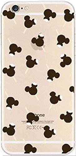 iPhone 8 / 7 Compatible, Designer Choice Collection Colorful Flexible Ultra Slim Transparent Translucent iPhone Case Cover - Bear Lollipop Overload -