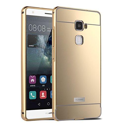 16 opinioni per HICASER Alluminio Metallo Custodia per Huawei Mate S Lusso Bumper Case +