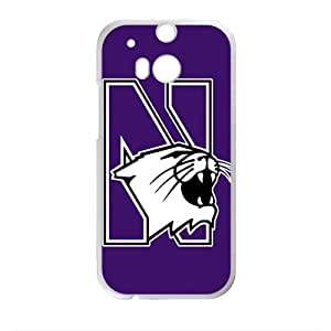 Northwestern Wildcats Design Plastic Case Cover For HTC M8