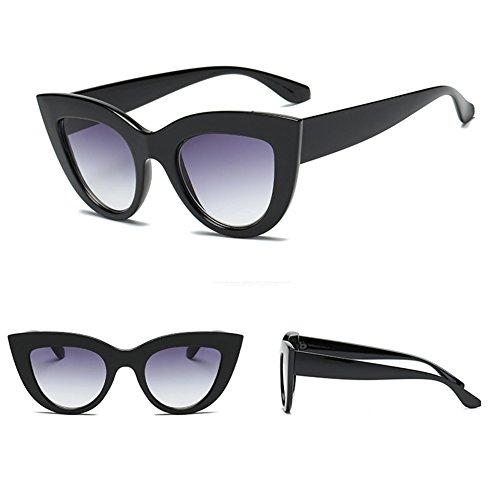 de yuxin Lunettes eye soleil Retro soleil C6 Eyewear Vintage Lunettes Sunglass Femmes de Cat Mirror FFqEYrz