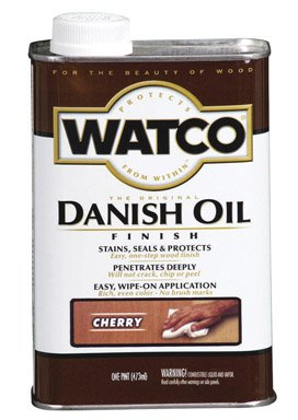 - Watco 65251 1 Pint Cherry Danish Oil Finish