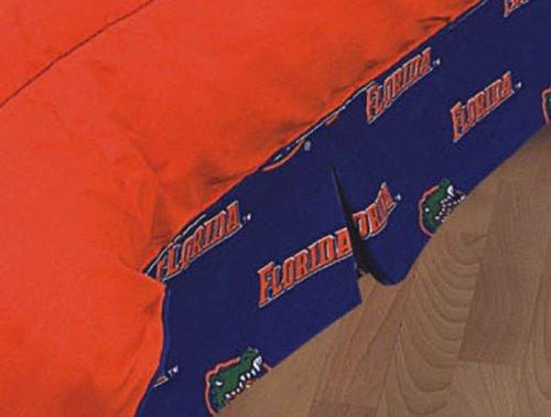 College Covers Florida Gators Printed Dust Ruffle, -