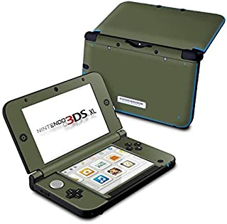 product image for Solid State Olive Drab - DecalGirl Sticker Wrap Skin Compatible with Nintendo Original 3DS XL