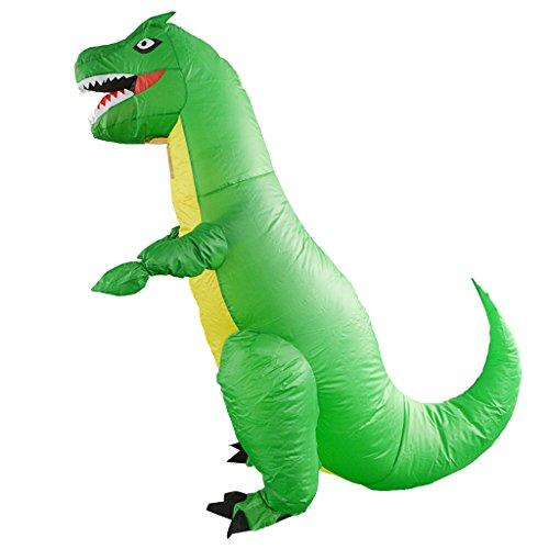 Amazon.com: SM SunniMix Adult Inflatable T-REX Dinosaur ...