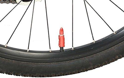 LinQ® cigalinq® 2 x bicicleta Válvula de aluminio bicicleta ...