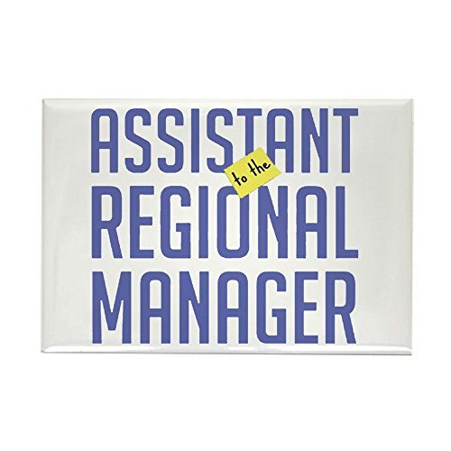 Assistant Sticker - CafePress - Assistant (to the) Regional Manager Magnet - Rectangle Magnet, 2