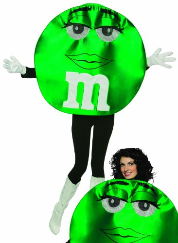 M&m Adult Costumes (M&M's Character Deluxe Costume - One Size - Chest Size 48-52)