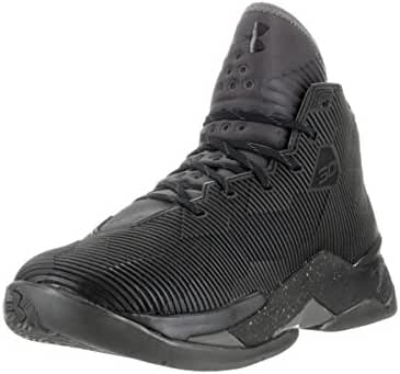 Under Armour Curry 2.5 Men Round Toe Canvas Black Basketball Shoe