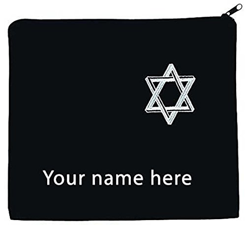 Tallit Bag - Star of David Personalized with Your Name (Scarf Mens Personalized)