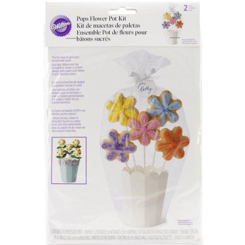 Cookie Bouquet Sticks - Wilton POPS Potted Bouquet Kit- Discontinued By Manufacturer