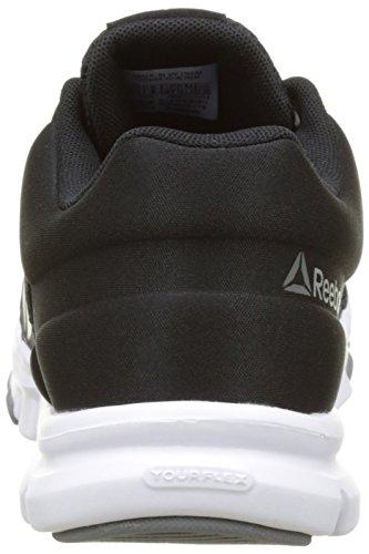 De Femme Dust Chaussures silver black white Yourflex Trainette Noir asteroid Metallic Reebok grey Mt Fitness 0 aq0AX7qwUx
