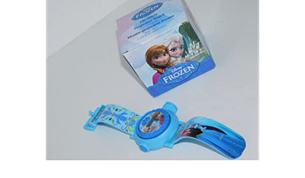 Frozen Cartoon Imagen Reloj proyector: Amazon.es: Relojes