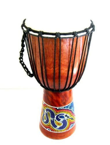 Djembe Drum Bongo Hand Drum, African Drum - Percussion - X- LARGE, 20'' Professional Sound, JIVE BRAND by Jive