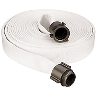 Amazon Com Key Fire Single Jacket Fire Hose White 2 1 2