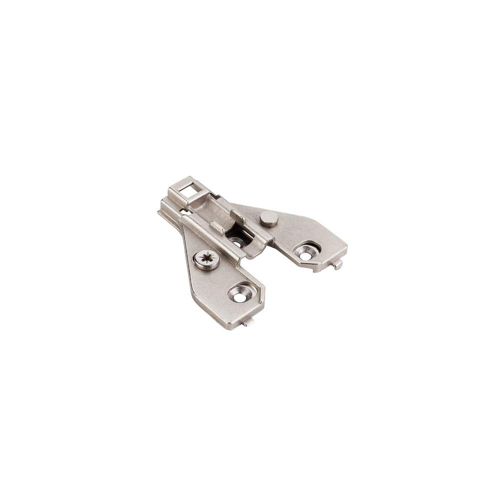 Hardware Resources 600.3553.65 700 Series Clip On Mounting Plate for Concealed E, Polished Nickel